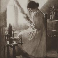 Intérieur (fileuse), 1912
