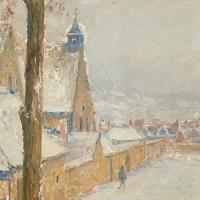 Chapelle Saint-Roch sous la neige III