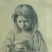 Jeune Fille au bol