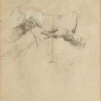 Mains de Pauline – Étude, 1897