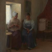 Visite à une amie, 1895