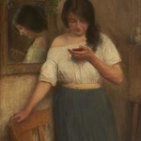 Marie Martinet en manches de chemise, 1903