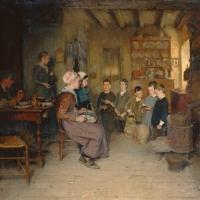 Le Crux Ave à Pâques (Chorknaben am Osterfeste), 1887