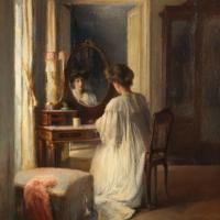 Femme à sa toilette, 1909