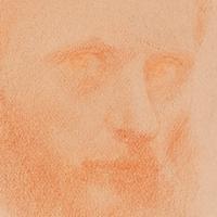 Autoportrait à la sanguine