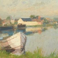 Bassin du canal à Saint-Amand