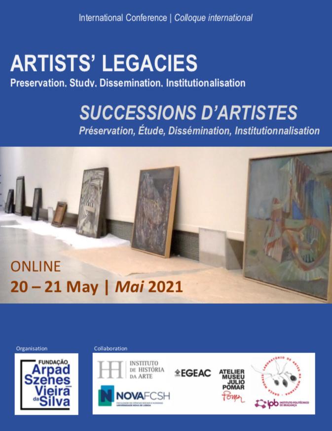 Colloque international Artists' Legacies