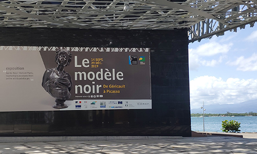 """Léon Delachaux dans l'exposition """"Le modèle noir : de Géricault à Picasso"""""""