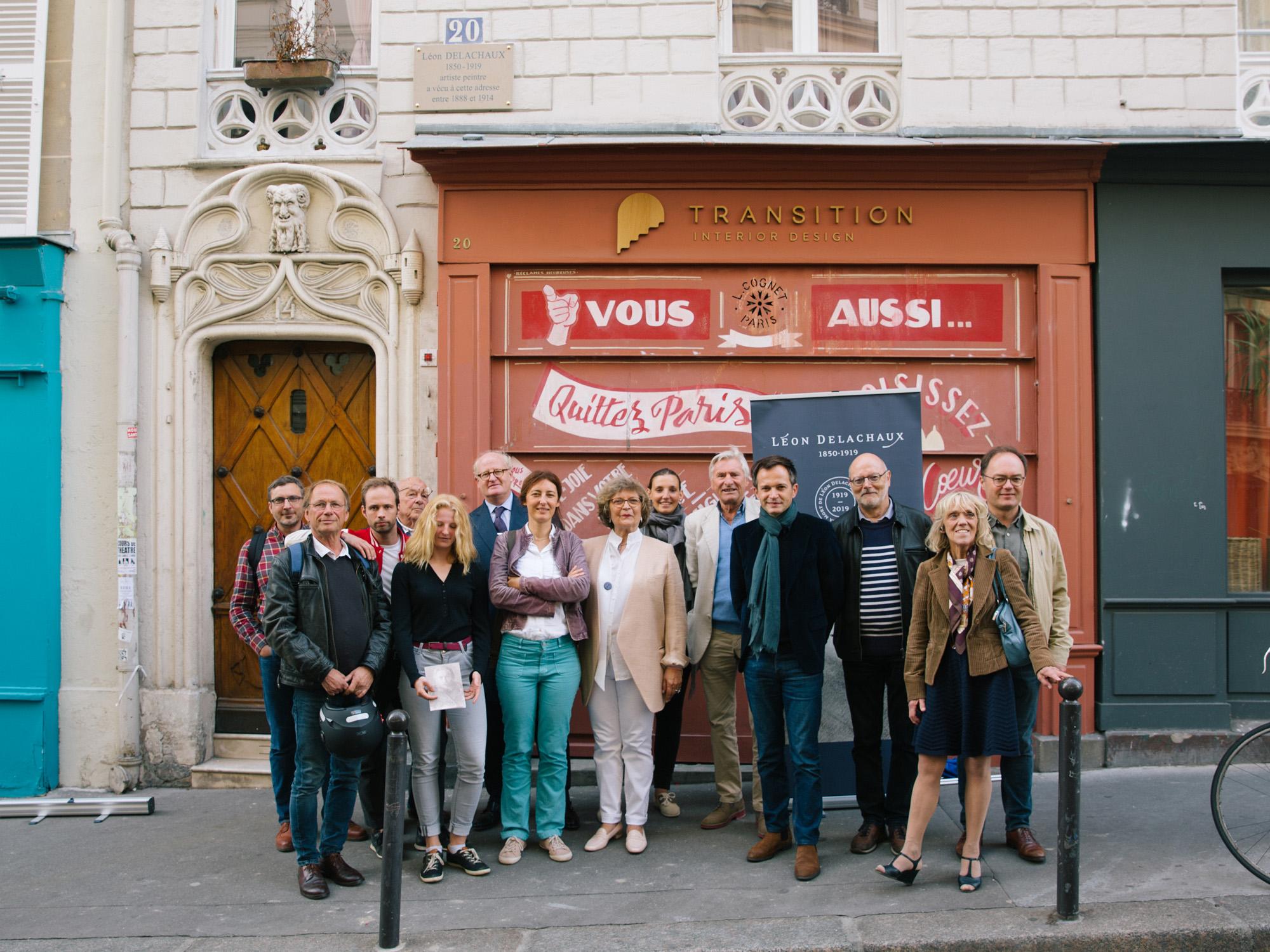 La famille Delachaux et les élus du XVIIIe arrondissement de Paris
