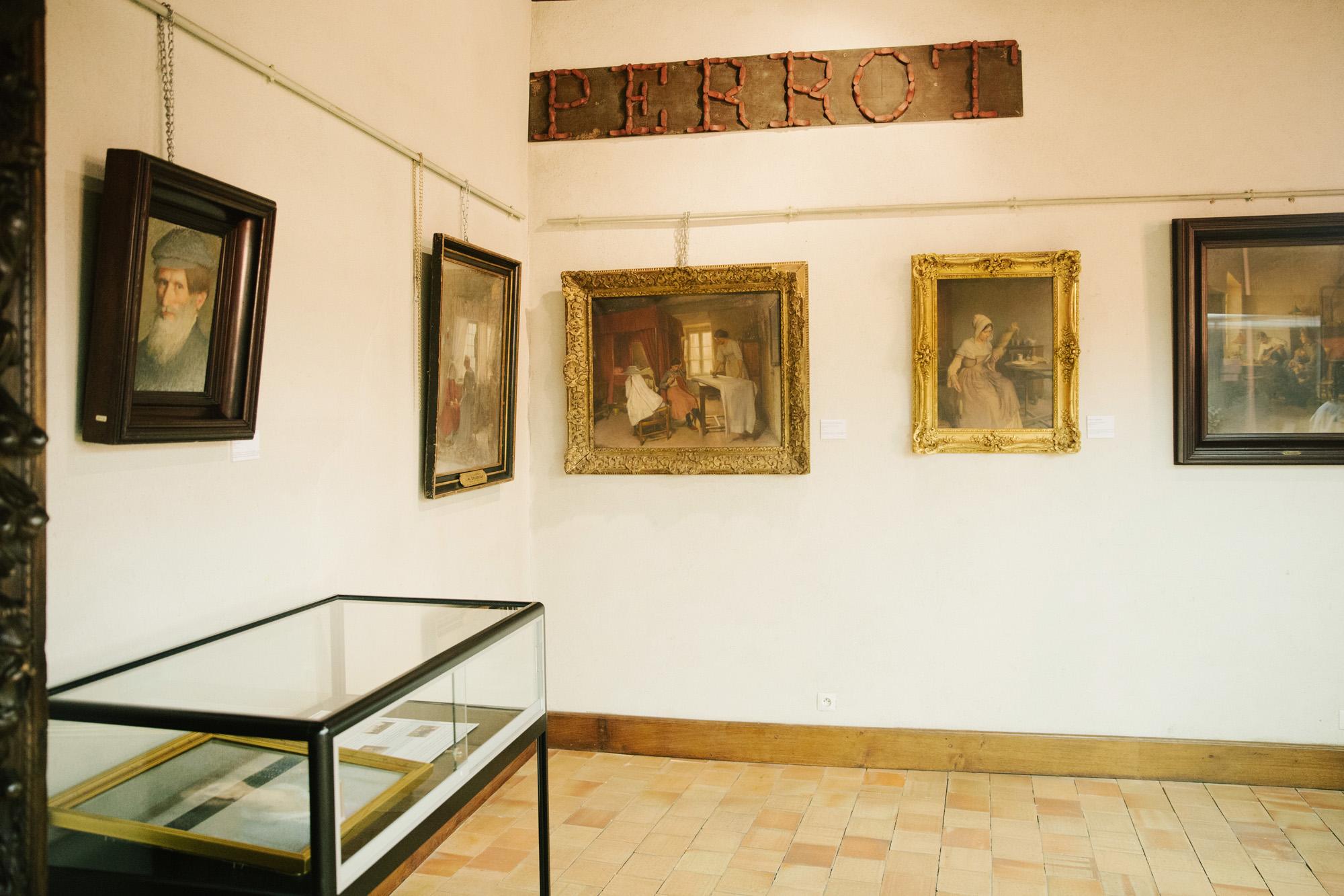 Quelques toiles de Léon Delachaux au Musée Saint-Vic de Saint-Amand-Montrond