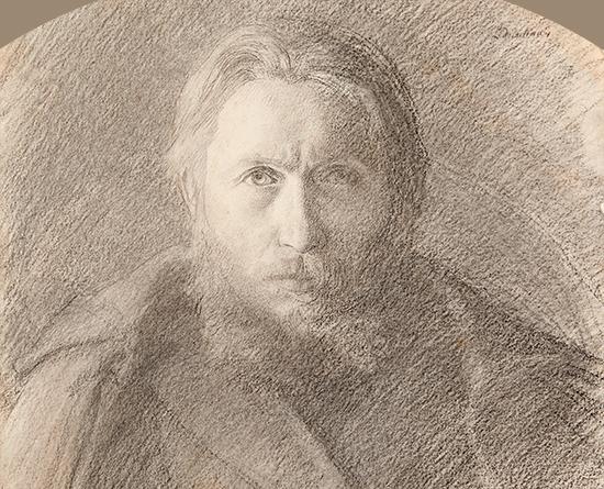 Autoportrait Delachaux